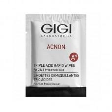 ACNON Triple acid rapid wipes / Влажные очищающие салфетки, 1 шт