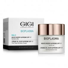 BIOPLASMA Крем увлажняющий для жирной кожи С SPF 17 \ Moist Supreme SPF 17 50мл