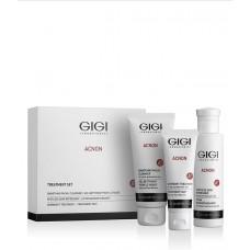 ACNON Набор трехступенчатый Чистая кожа (мыло 100мл, эссенция дневной 120мл, крем ночной 50мл)